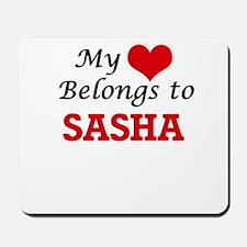 My heart belongs to Sasha Mousepad