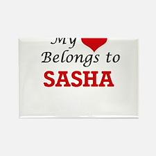 My heart belongs to Sasha Magnets