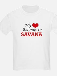 My heart belongs to Savana T-Shirt