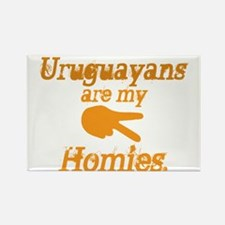 Cute Uruguay travel Rectangle Magnet