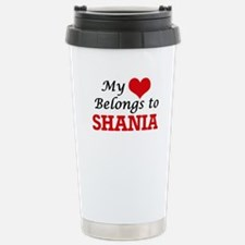 My heart belongs to Sha Stainless Steel Travel Mug