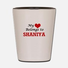 My heart belongs to Shaniya Shot Glass