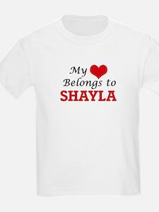 My heart belongs to Shayla T-Shirt