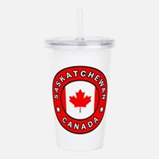Saskatchewan Canada Acrylic Double-wall Tumbler