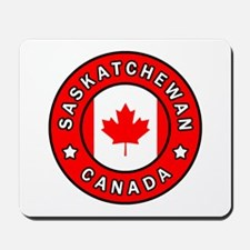 Saskatchewan Canada Mousepad