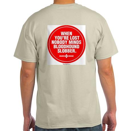 Bloodhound Slobber Light T-Shirt