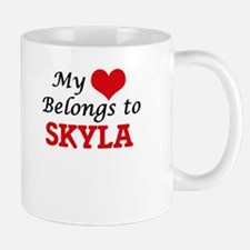 My heart belongs to Skyla Mugs