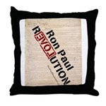 Ron Paul Constitution Throw Pillow