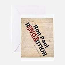 Ron Paul Constitution Greeting Card