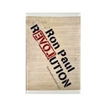 Ron Paul Constitution Rectangle Magnet