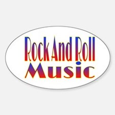 Rock And Roll Music Decal