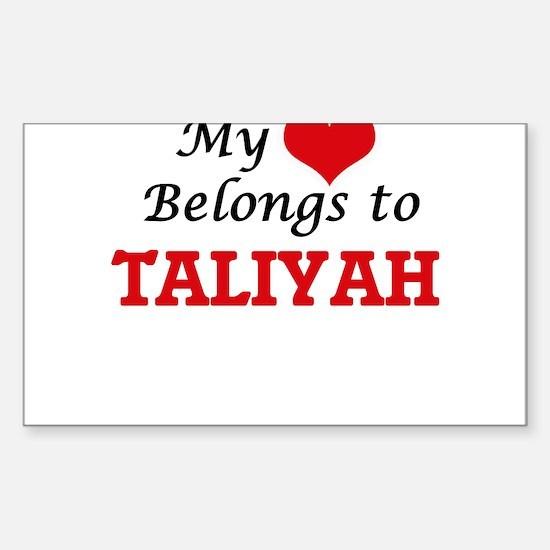 My heart belongs to Taliyah Decal