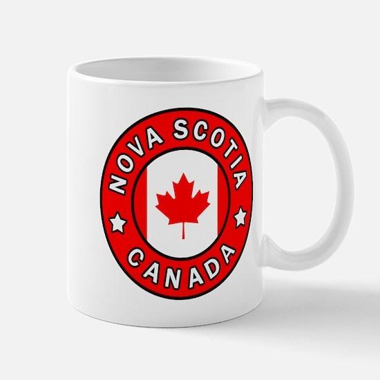 Nova Scotia Canada Mugs
