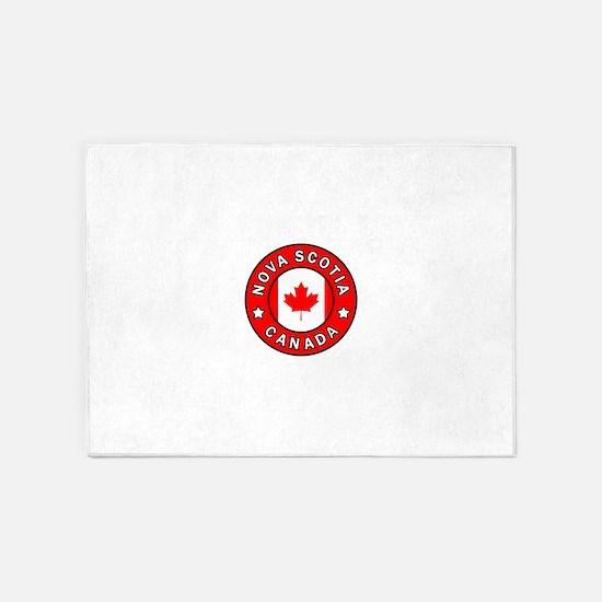 Nova Scotia Canada 5'x7'Area Rug