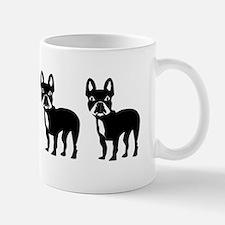 Four French Bulldogs Mugs