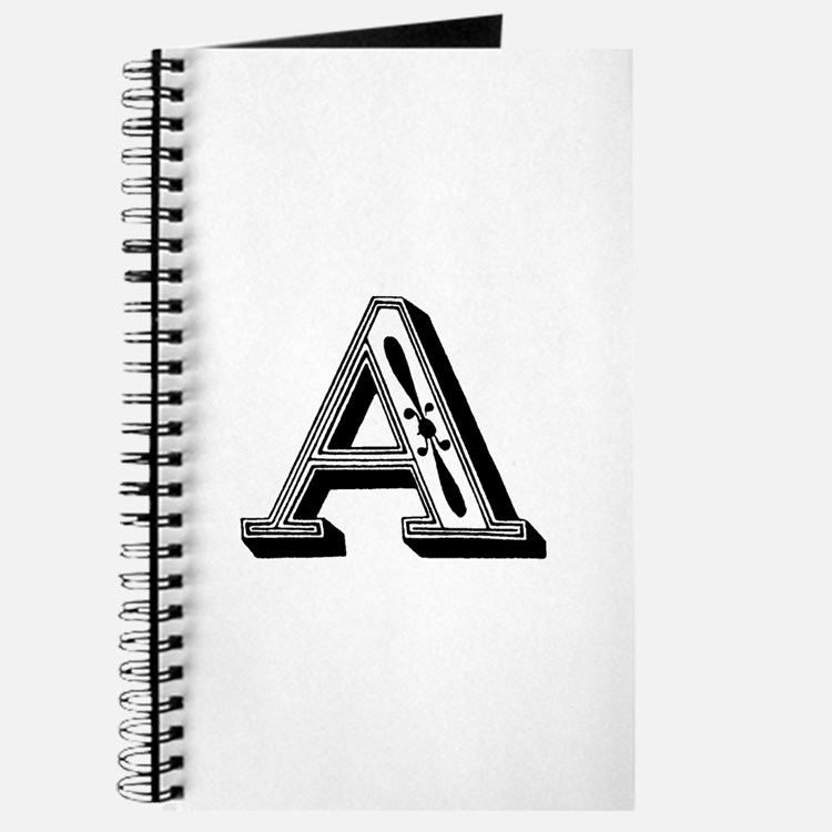 Cute Letterform Journal