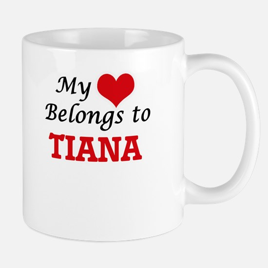 My heart belongs to Tiana Mugs