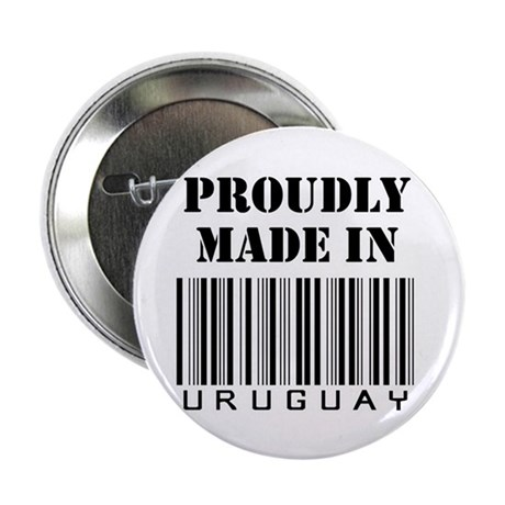 """Proudly made in Uruguay 2.25"""" Button (10 pack)"""
