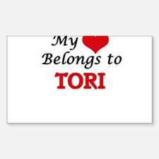 My heart belongs to Tori Decal