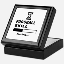 Foosball Skill Loading.... Keepsake Box