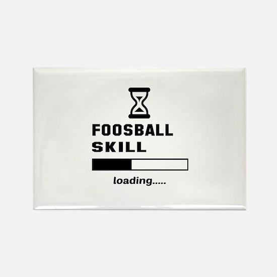 Foosball Skill Loading.... Rectangle Magnet