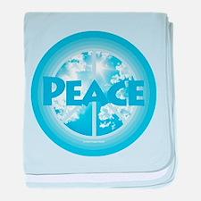 Peace baby blanket