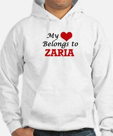 My heart belongs to Zaria Hoodie Sweatshirt