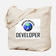 World's Greatest DEVELOPER Tote Bag