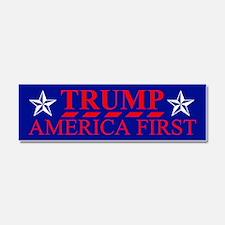Trump America First Car Magnet 10 x 3