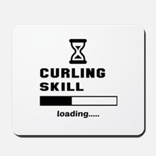 Curling Skill Loading.... Mousepad