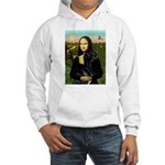 Mona / Gr Dane (bl) Hooded Sweatshirt