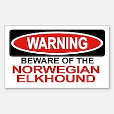 NORWEGIAN ELKHOUND Rectangle Decal