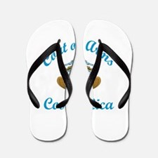 Coats of Arms Costa Rica Flip Flops