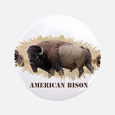 American Bison Button