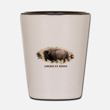 American Bison Shot Glass
