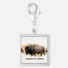 American Bison Charms