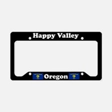 Happy Valley OR - LPF License Plate Holder