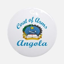 Coats of Arms Angola Round Ornament