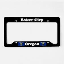 Baker City OR - LPF License Plate Holder