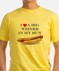 I Love Wiener T-Shirt