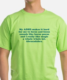 ADHD Magic Hocus Pocus T-Shirt