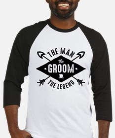 Man Groom Legend Baseball Jersey
