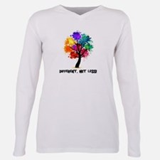 Funny Different Plus Size Long Sleeve Tee