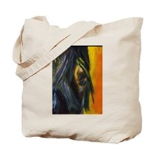Midnight Rendezvous-Thoroughbred Tote Bag