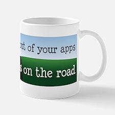 Eyes on the Road Mugs