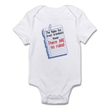 No Rules at Great Grandma's House Infant Bodysuit
