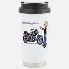 Unique Girls mountain biking girl Travel Mug