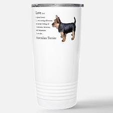 Cute Australian terrier Travel Mug