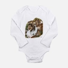 Rough Collie Art Gifts Body Suit