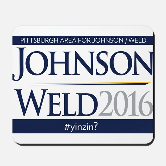 YinzIn Johnson Weld Mousepad